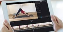 Editing on Yoga clip on iPad