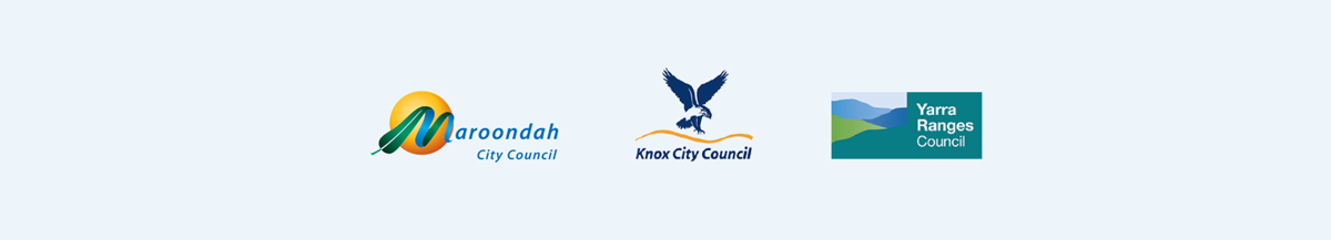 Maroondah Council, Knox Council and Yarra Ranges Council